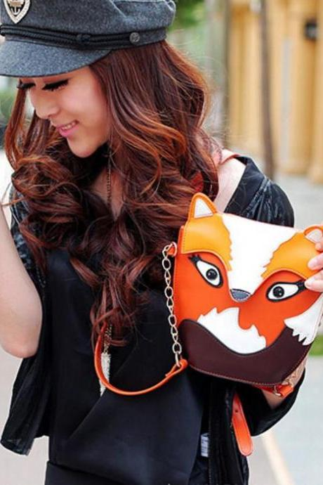 Owl and Fox Kawaii Shoulder Bags