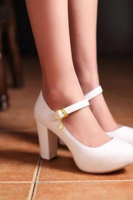 Elegant Mary Jane Pumps