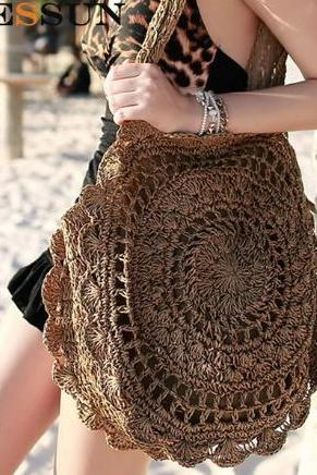 High Quality Bohemian Straw Bag