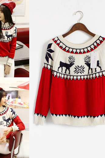 Cute little deer sweater