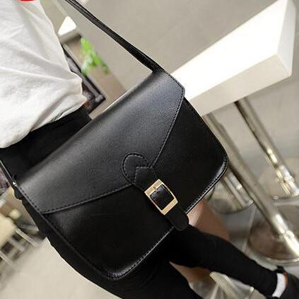 2015 the European and American fashion handbags retro 5 color PU single shoulder his female package